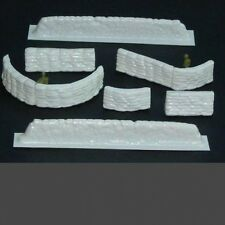 Amera Plastics Sandbag emplacement SetMoulded Plastic.1/721/7,20mm Scale-S214