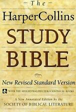 HarperCollins Study Bible: New Revised Standard Version (with the Apocryphal/Deu