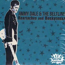 JIMMY DALE & THE BELTLINE (NEW APRIL 2016 CD COUNTRY-ROCKABILLY) USA WILD label
