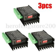 3pcs CNC Single Axis TB6600 4A 2/4 Phase Hybrid Stepper Motor Driver Controller