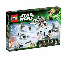 VERY RARE New Lego Star Wars 75014 Battle Of Hoth - BNIB & Sealed