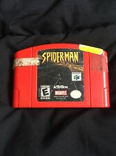 SpiderMan (Nintendo 64, 1995)  CLEANED AND TESTED!!!