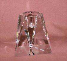 Villeroy Boch V&B 1 PRISMA Kerzenständer H6 Kerzenhalter Kristall dreieckig 9300