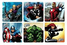 12 Marvel The Avengers Assemble Stickers Kid Party Goody Loot Bag Favor Supply