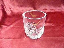 Kenmure MGA President's Cup 1996 Runner Up Bob Liggett glass crystal cup trophy
