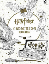 The Harry Potter Adult Colouring Book J.K. Rowling Wizards Owls Hogwarts Gift