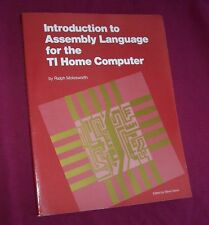 TI-99/4A 99/4 Book INTRO TO ASSEMBLY LANGUAGE FOR THE TI HOME COMPUTER *New*