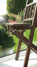 Antique Vintage small Wooden Folding Chair Apprentice Piece Will sit Small Child