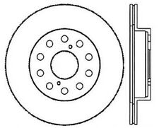 Disc Brake Rotor-High Performance Slotted Centric fits 91-95 Toyota MR2