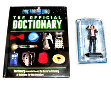THE DOCTOR WHO Dictionary Book + Die Cast Collectors Figure set GREAT GIFT