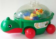 LEGO Baby MY TURTLE FRIEND WAGON 2107 loaded w 33 PRIMO bricks, rattles, wheels
