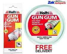 HOLTS GUN GUM SILENCER EXHAUST REPAIR PASTE & EXHAUST REPAIR BANDAGE *BRAND NEW*