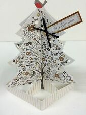 Hallmark Christmas Luxury Pop Up 3D Tree Limited Edition Card Box 5 Cards