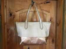 Fossil Large Leather Tote Bag Nice!