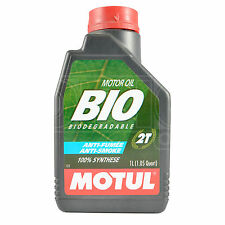 Motul BIO 2T BIODEGRADABLE Two Stroke High Performance Lubricant 1 Litre 1L