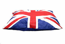 LARGE Comfy Soft Washable Dog Pet Cat Warm Basket Bed UNION JACK CUSHION PILLOW