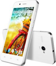 Lava Iris Atom White( 8 GB)Android Lollipop v5.1, Quad Core Processor