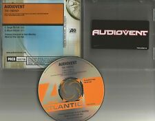 AUDIOVENT The Energy w/ RARE SINGLE EQ EDIT PROMO Radio DJ CD single 2002 USA
