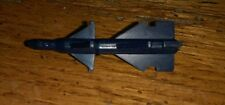 Vintage TRANSFORMERS Unknown action figure accessory Blue Missile Rocket toy old