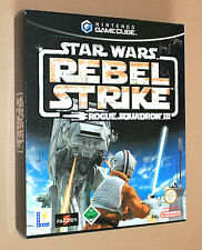 Star Wars Rogue Squadron III Rebel Strike promo Game Store Display Box Gamecube