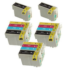 14 Pack T127 Ink For Epson WorkForce 630 633 635 645 840 845 #127 Non-OEM