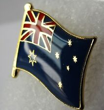 Australia Flag Pin Badge  High Quality Gloss Enamel