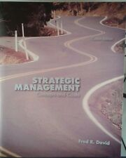 Strategic Management: Concepts and Cases (Custom Edition) Fred David-1269150294