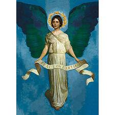 Calypso Box of 8 Christmas Cards - PRE RAPHAELITE ANGEL - #1093