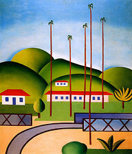 Cityscape    by Tarsila do Amaral  Giclee Canvas Print Repro
