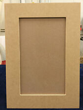 Custom, cut to size, MDF, Shaker recess panel cabinet door and drawer fronts
