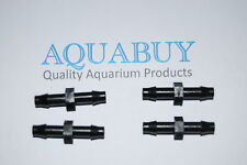 4mm in-line joiners for Aquarium airline - 4 pieces