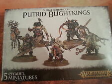WARHAMMER AGE OF SIGMAR NURGLE ROTBRINGERS PUTRID BLIGHTKINGS - NEW & SEALED
