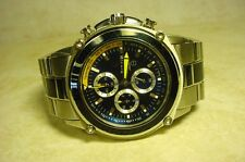 MENS BULOVA MARINE STAR CARBON FIBER CHRONOGRAPH WATCH