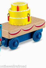 MUSICAL BIRTHDAY CAKE CAR Thomas Tank Engine Wooden Railway NEW