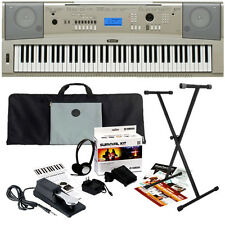 Yamaha YPG-235 Portable Grand Keyboard STAGE ESSENTIALS BUNDLE