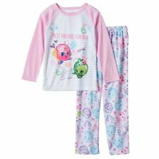 "Shopkins D'lish Donut & Apple Blossom ""Best Friends Forever"" Pajama Set Size 4/5"