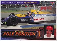 1995 FUTERA FORMULA ONE POLE POSITION PP8: NIGEL MANSELL #/3000 INDY/F1 CHAMPION