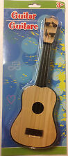 Children's 4-String Acoustic Guitar Toy, Light Brown, Early Simulation - 11""