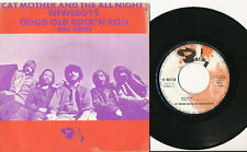 CAT MOTHER AND THE ALL NIGHT NEWSBOYS 45 TOURS FRANCE BAD NEWS ROCK'N'ROLL