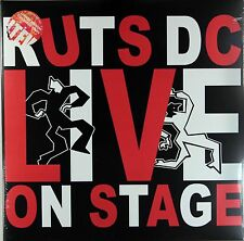 The Ruts (DC) - Live On Stage (Record Store Day Ltd 2 x Black/Red Vinyl) *LTD