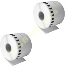 2 x 62mm CONTINUOUS ROLL Only DK22205 580N 1050 1060N Brother DK-22205 Labels