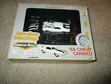 American Muscle Two-Lane Blacktop 69 Chevy Camaro Diecast Kit 1/64 MIB Body Shop