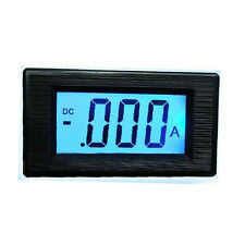 20A DC Digital display Amp panel meter LED LCD Blue Ammeter F/ 12V CAR