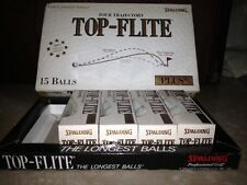 SPALDING Top-Flite Tour Trajectory PLUS II GOLF BALLS 4 pack = 12 Pieces
