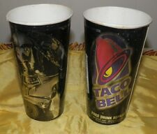 2 1996 Star Wars Trilogy Paper Cups from Taco Bell-C3PO