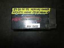 89 90 91 92 MERCURY COUGER KEYLESS MODULE #E8DB-14B001-AA *See item*