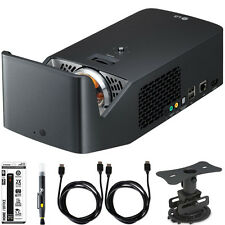 LG PF1000U Ultra Short Throw Home Theater Projector Accessory Bundle