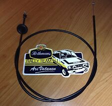 Ford Mk2 Escort Bonnet Release Cable All Models 1975-1980 Race Rally GRP4