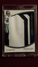 Ezekiel Elliott 2016 Immaculate Collection Numbers Patch Rookie Card 2/50