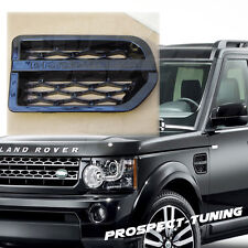 PT LAND ROVER DISCOVERY 3 D3 GLOSS BLACK SIDE VENT 2004 - 2009 ABS PLASTIC